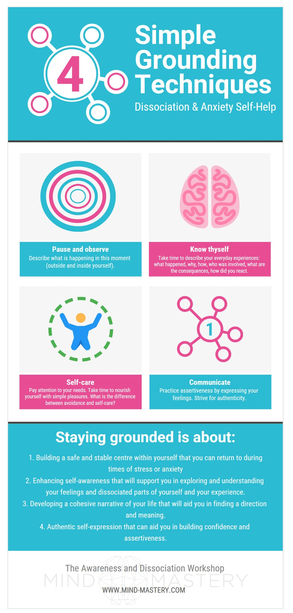 4 Simple Techniques for Staying Grounded